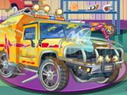 لعبة اصلاح العربات المتحولة Repair Your Transformers