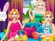 Húsvéti öltöztetős és kifestő
