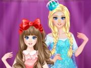 Elsa Sisters Makeup Party