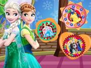 Jégvarázs hercegnők sütije