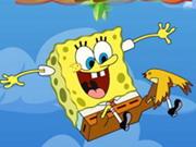 Spongyabob ejtőernyőzik